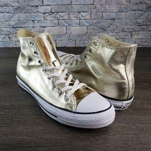 🏅 Converse Chuck Taylor All Star Hi Light Gold